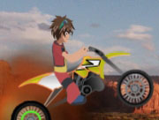 Bakugan Bike In The Grand Canyon