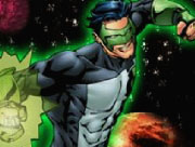 Green Lantern Space Action