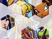 Winx Club Hexagon Puzzle