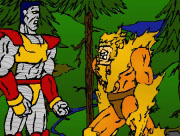 X Men Fight