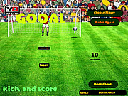 Football Kick And Score
